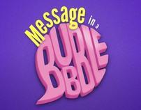 Stride Gum - Message In a Bubble