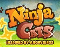 [ NINJA CATS ] game logo