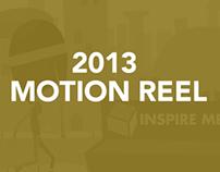 2013 Motion Graphics Reel