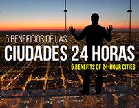 Ciudades 24 horas