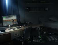 gamer's room