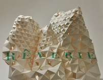 Rêverie | Modular Paper Sculpture