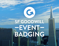SF Goodwill | Event Badging