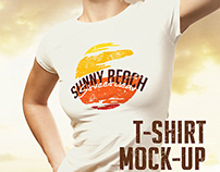 T-shirt Mock-up 8 PSDs