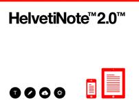 HelvetiNote™ 2.0™ - Berger & Föhr + Rage Digital