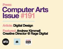 AK Press: Computer Arts Issue #191 | Digital Design