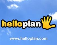HelloPlan brand identity