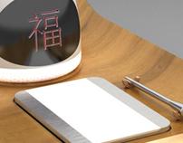 "Design Produit/Product design : ""Zaojun"" domotic app."