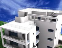 Villino Pantanella - Reconstruction