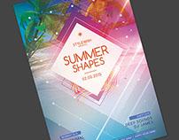 Summer Shapes Flyer