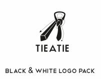 Black & White logo showcase