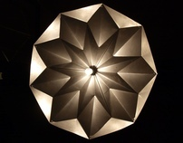 Handfolded Metal Lampshades