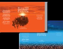 Hillier Gourmet Coffee packaging