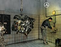 Mercedes-Benz / Butcher Print Ad