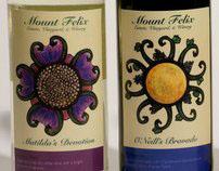 Mount Felix Wine Labels