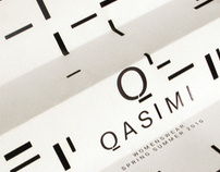 Qasimi - Womenswear SS10 Invites