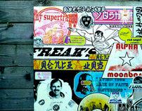 CONVAS nowadays featuring the crazy sticker attitudes