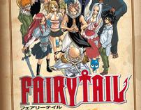 Anúncio do mangá Fairy Tail