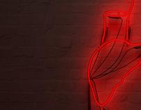 Design and visualization of neon installation