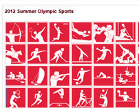 Olympics 2012 Re-Brand Website
