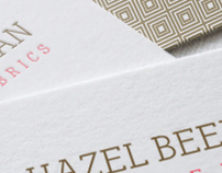 Logo • Business Card :: Hazel Beekman