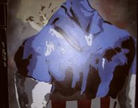 Captain America spray