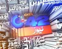 City 42 News Channel Title and Bumper Animations