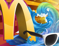 McDonald's ((Sharm El Sheikh BUS ART WORK ))