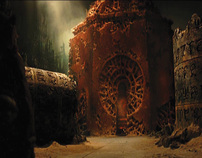 Angel oh Death's Temple for Hellboy 2 (The Golden Army)