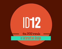 2012 trends in interactive design