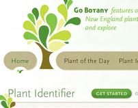 New England Wild Flower Society: Go Botany Design
