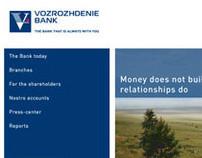 VOZROZHDENIE BANK Website