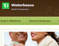 TD Waterhouse: Site Design