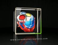 U.S. Website Creations - Animated Logo