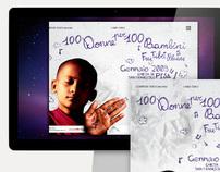 100 donne per 100 bambini campagna marketing