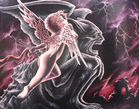 Fantastic & Literary Art - Paintings 1999 - 2007.