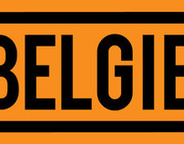 BELGIE Typeface