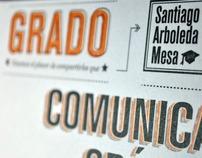Tarjeta de participación - Grados 2012