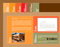 Log Home Kits Website Design