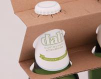 DAB BEER packaging design