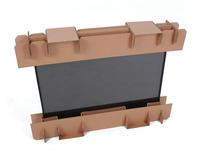 Corrugated Fiberboard Packaging for Flat-Panel TVs