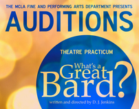 MCLA Fine & Performing Arts: Spring 2012 Auditions