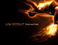 Track and Flames