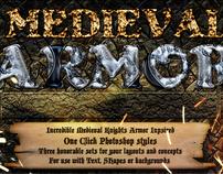 Medieval Photoshop Armor Styles