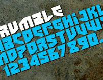 Rumble Typeface (2010)