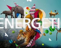 art work 'energetic'