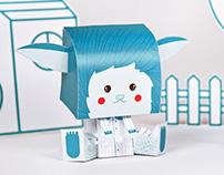 Coloretes - Paper Toy