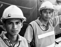 Commercial Mine Site Documentary Photography
