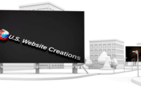 U.S. Website Creations - 3D Fly Through CG City