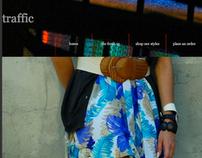 Traffic- Website interface
